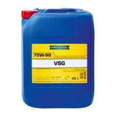 RAVENOL  VSG SAE 75W-90 GL-5/GL-4 синтетическое трансмиссионное масло 20л.