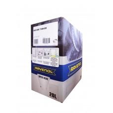 RAVENOL  VSG SAE 75W-90 GL-5/GL-4 синтетическое трансмиссионное масло 20л. ECOBOX