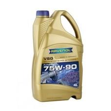 RAVENOL  VSG SAE 75W-90 GL-5/GL-4 синтетическое трансмиссионное масло 4л.