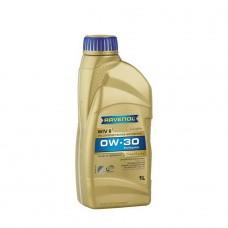 RAVENOL  WIV SAE 0W-30  синтетическое моторное масло VW 506.00/506.01  1л.