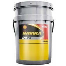 Масло моторное SHELL Rimula R4 Х 15W40  20L