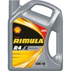SHELL Rimula R4 Х 15W40  5L