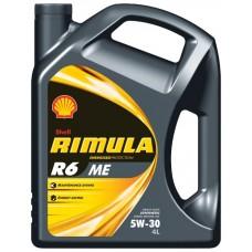 SHELL Rimula R6 МЕ 5W30 4L