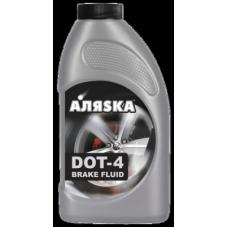Тормозная жидкость DOT-4 Аляска  455гр
