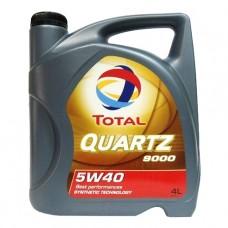 Масло моторное TOTAL QUARTZ 5W40 4L