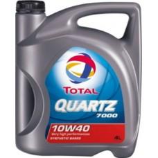 Масло моторное TOTAL QUARTZ 7000 10W40 4L