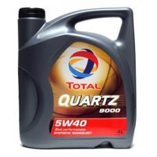 Масло для 4-тактных двигателей TOTAL QUARTZ 9000  5W40 4B4L