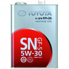 Масла моторное Toyota  SN/CF  5W30  4л